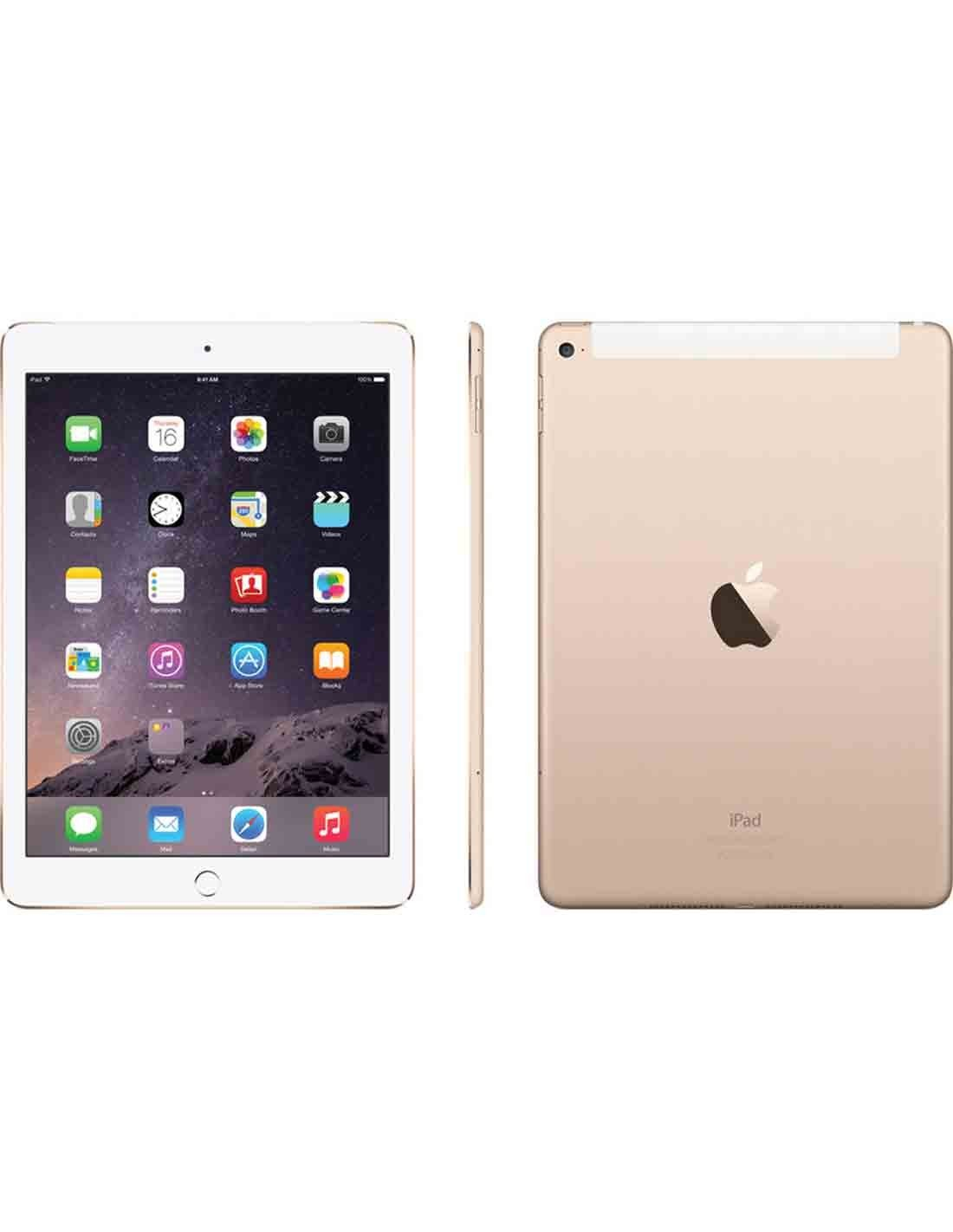 Apple iPad Air 2 WiFi and Cellular 128GB - Gold MH1G2B/A at a Cheap Price in Dubai Online Store