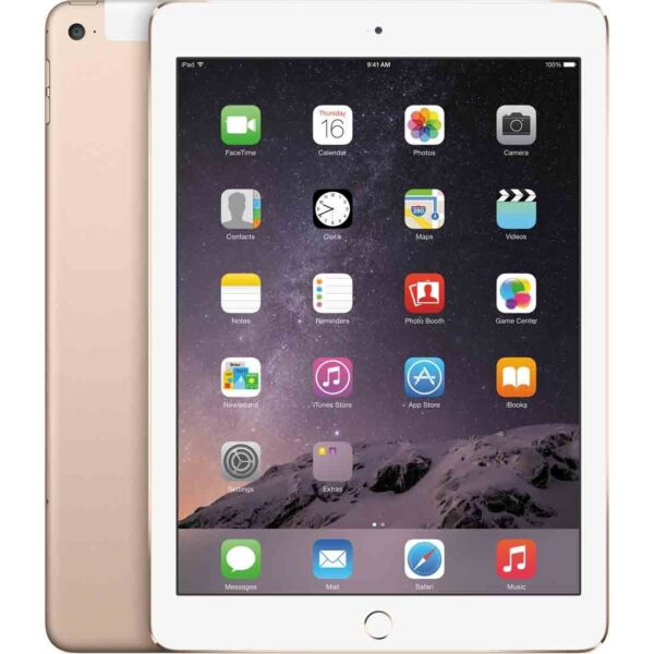 Apple iPad Air 2 WiFi and Cellular 128GB - Gold MH1G2B/A Dubai UAE