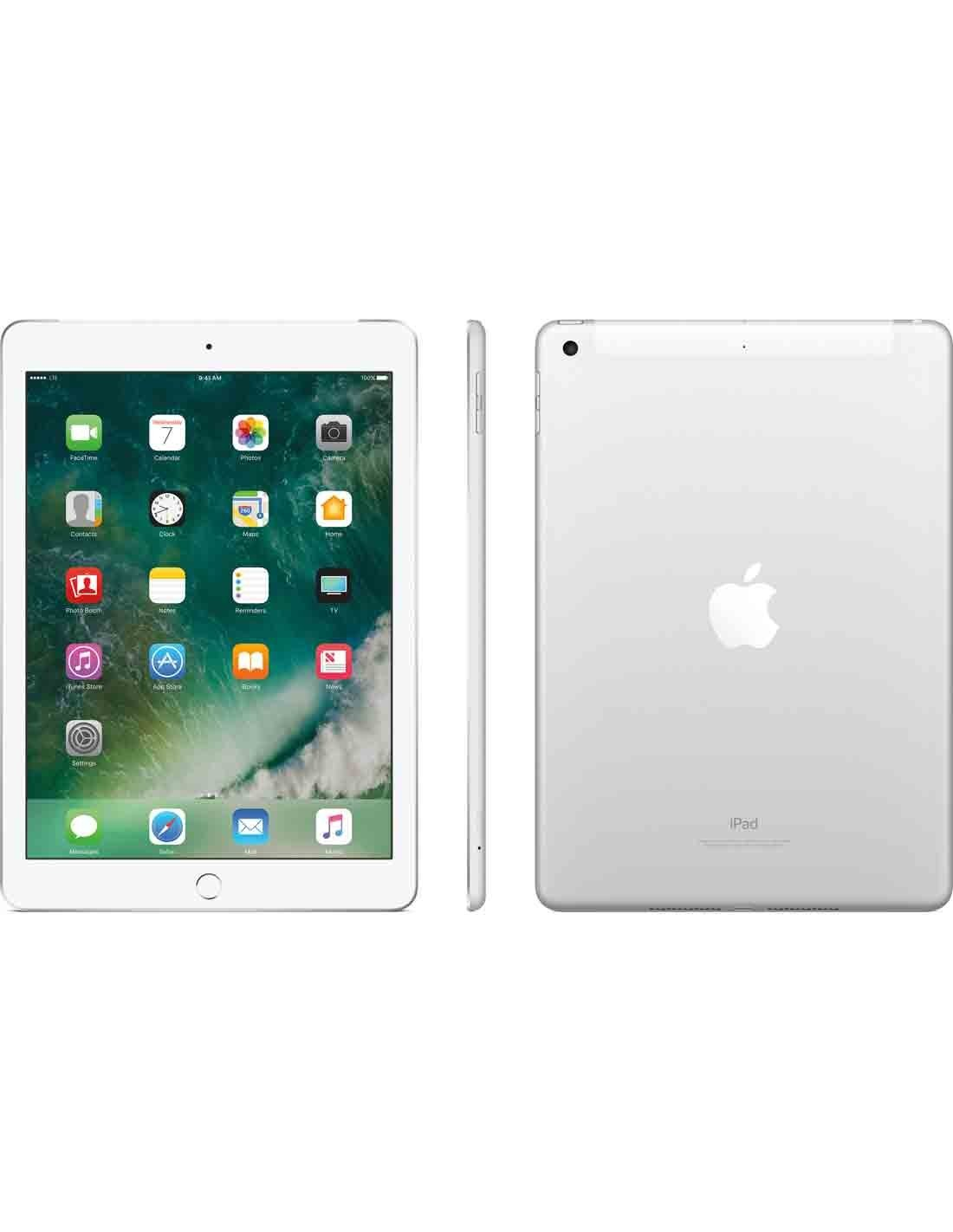 Apple iPad Air 2 Wi-Fi and Cellular 128GB - Silver MGWM2B/A Dubai