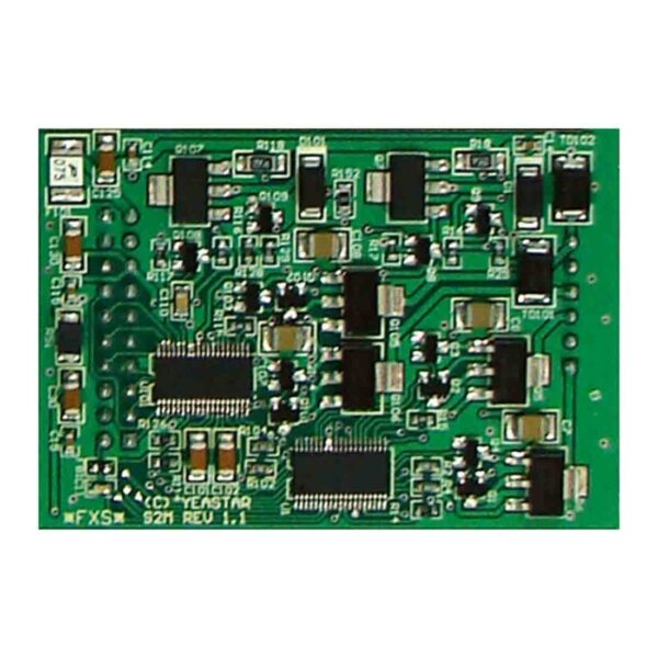 Yeastar S2 Module (2 FXS Ports) YST-S2 is compatible with MyPBX series and S-Series PBX.