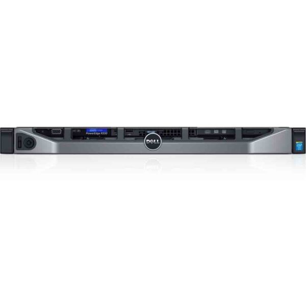 Dell PowerEdge R330 E3-1220v5 Rack Server is more secure and reliable