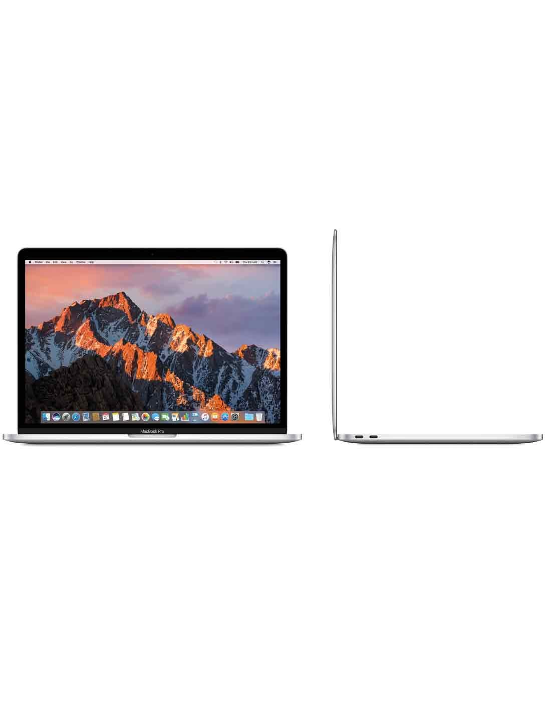 MacBook Pro 13-inch Silver with Touch Bar Images