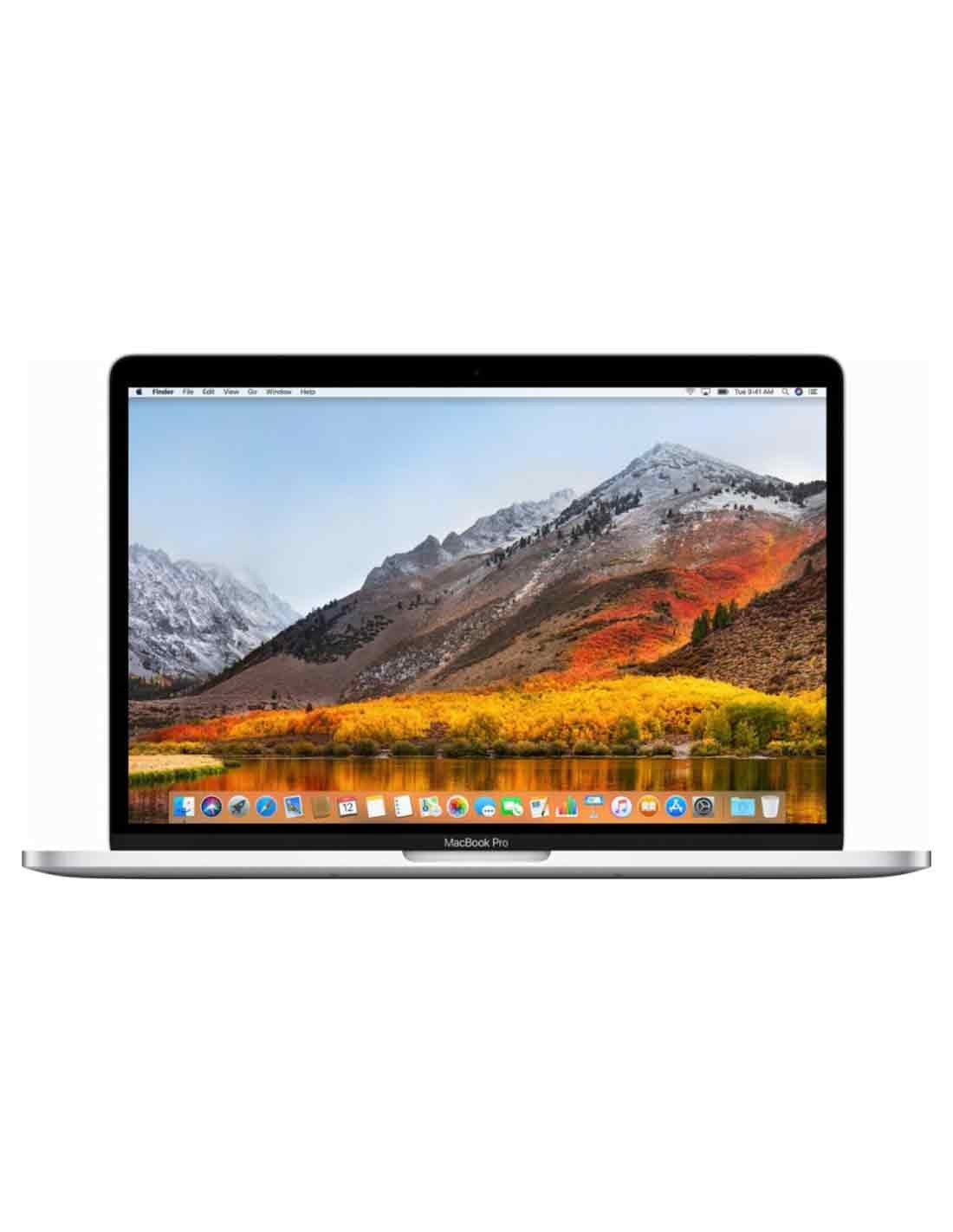 MacBook Pro 13-inch Silver with Touch Bar Buy Online in Dubai