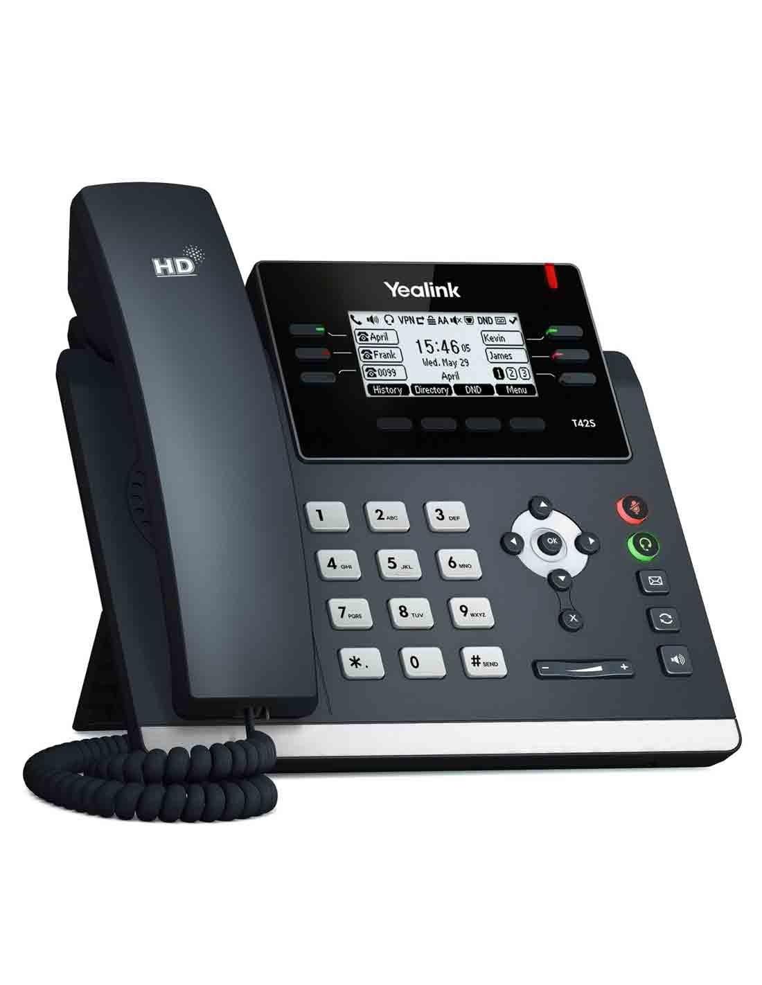 Yealink SIP-T42S IP Phone Images