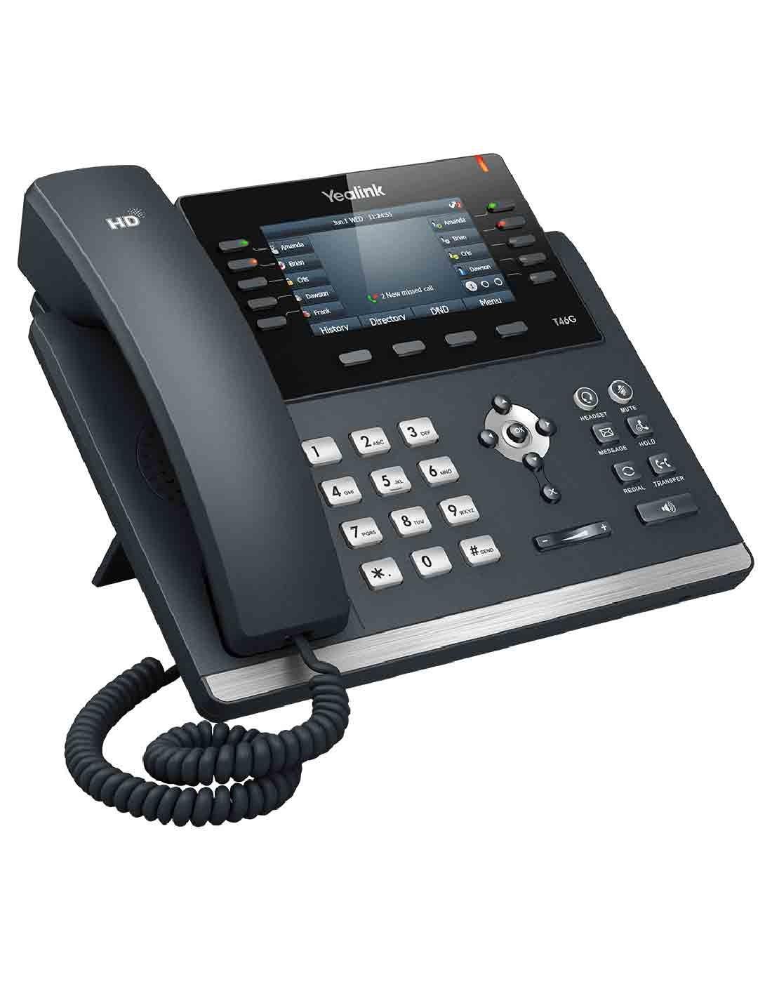 Yealink SIP-T46S IP Phone Images