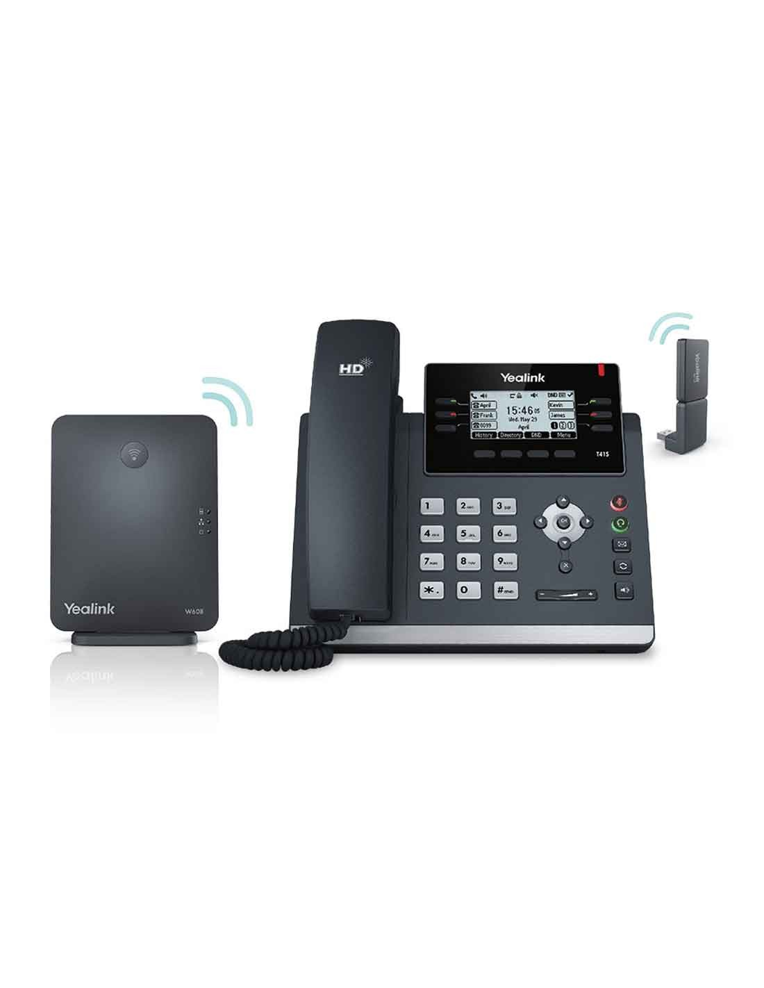 Yealink W41P DECT Desk Phone with best deal options - cheap price and free delivery in Dubai