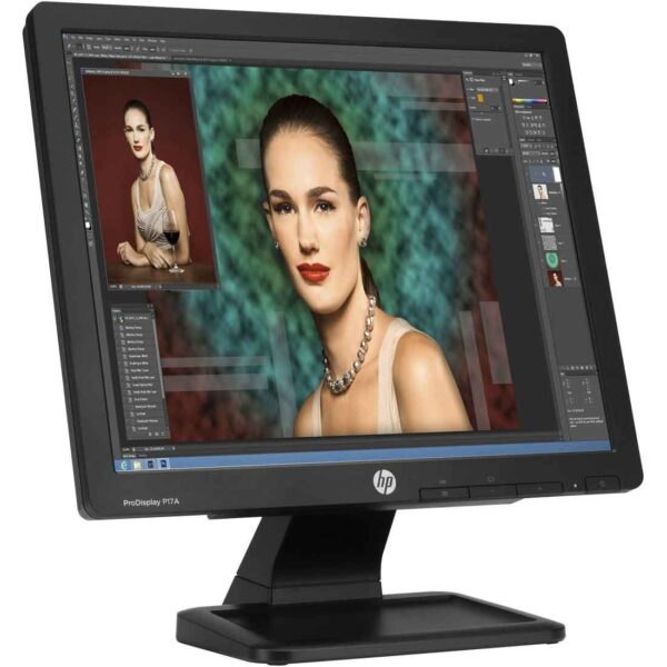 HP ProDisplay P17A 17-inch Monitor at the cheapest price in Dubai Online Store