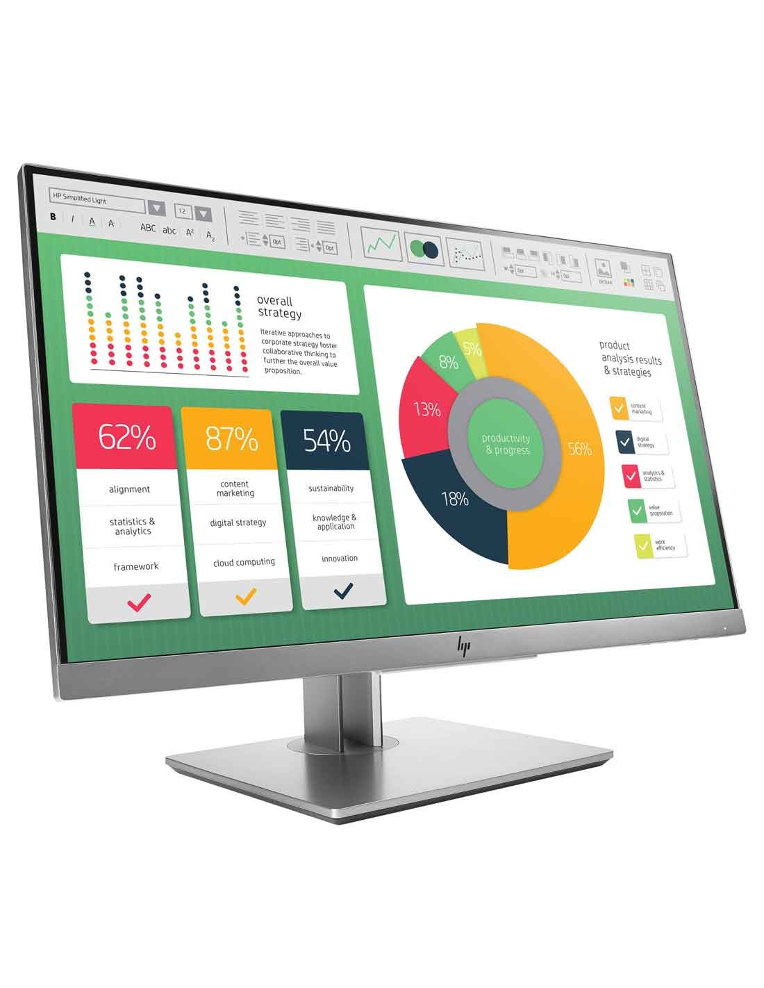 HP EliteDisplay E223 21.5-inch Monitor at the cheapest price and fast free delivery in Dubai