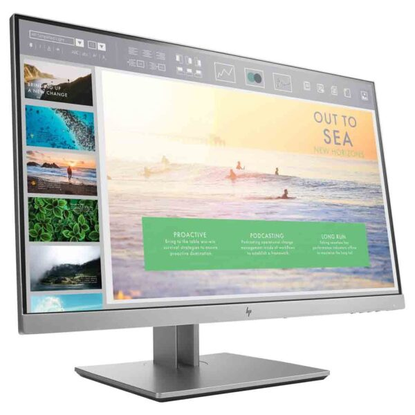 HP EliteDisplay E233 23-inch Monitor at the cheapest price and fast free delivery in Dubai.