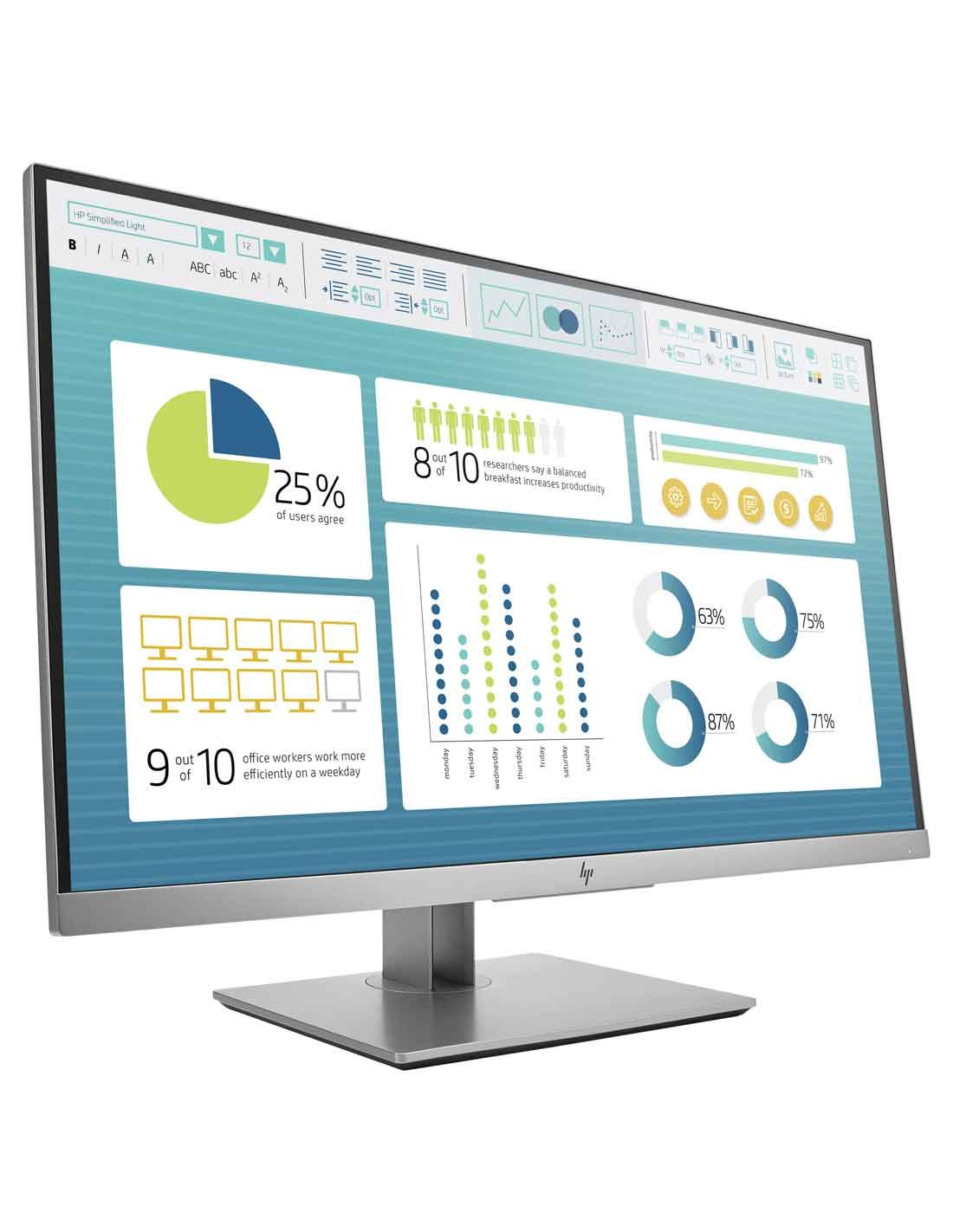 HP EliteDisplay E273 27-inch Monitor at the cheapest price and fast free delivery in Dubai