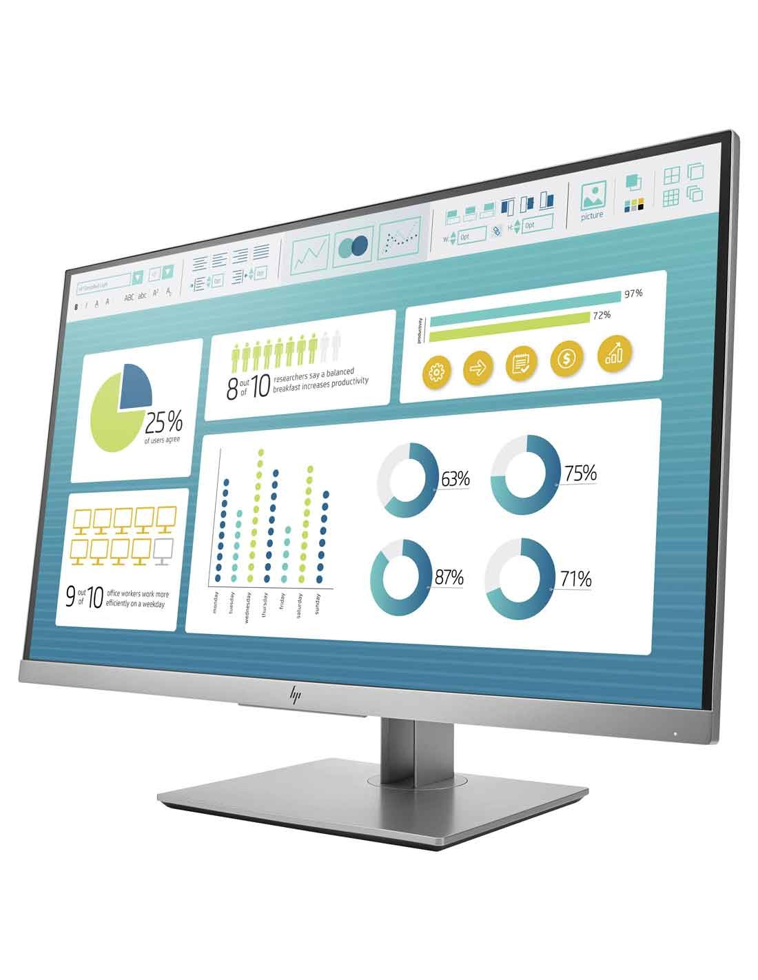HP EliteDisplay E273 27-inch Monitor images and photos