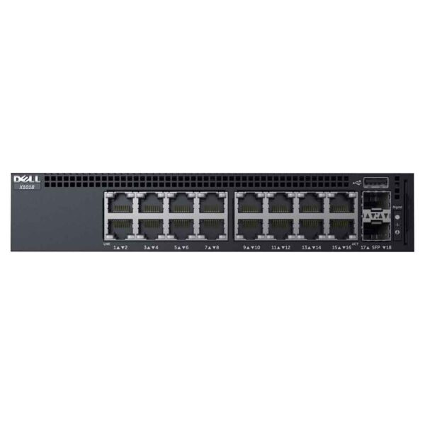 Dell Networking X1018 Managed Switch at the cheapest price and fast free delivery in Dubai UAE