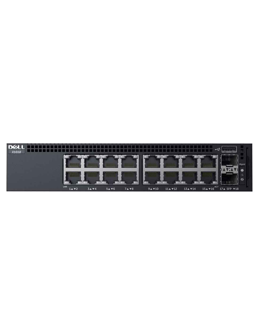 Dell Networking X1018P Managed Switch at a cheap price and fast free delivery in Dubai UAE